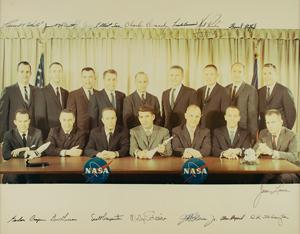 Walt Cunningham's NASA Astronaut Groups 1 and 2
