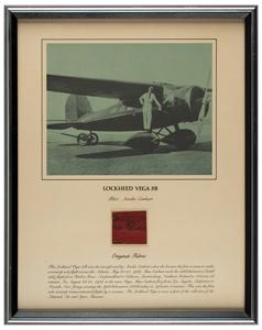 Amelia Earhart Lockheed Vega 5B Wing Fabric