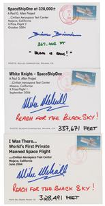 SpaceShipOne: Binnie and Melvill