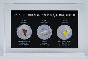US Steps Into Space
