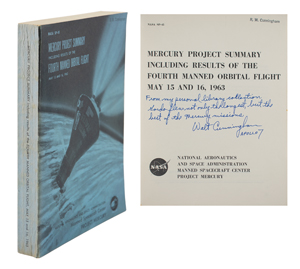 Walt Cunningham's Mercury-Atlas 9 Summary Report