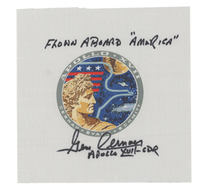 Apollo 17 Flown Beta Cloth