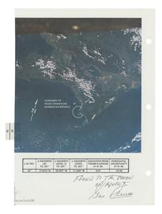Apollo 10 Flown Earth Photo Map