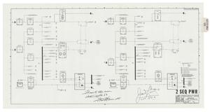 Apollo 13 Flown Command Module Data Systems Schematic