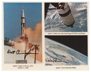 Apollo 7: Schirra and Cunningham