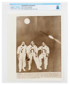 Neil Armstrong: Apollo 11 Photograph