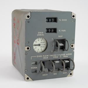 Apollo CM Block II SPS Propellant Utilization Gauge