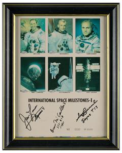 International Space Milestones