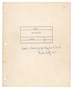 Paul Weitz's Training-Used Skylab EREP Site Book