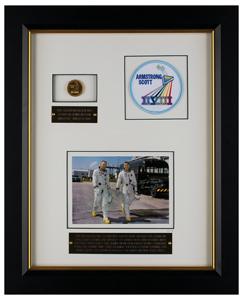 Gemini 8 Flown Gold Fliteline Medallion