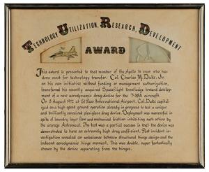 Charlie Duke's 'T.U.R.D.' Award