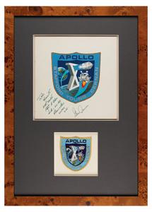 Al Stevens: Apollo 10 Mission Insignia Painting