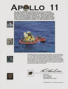 Apollo 11 Kapton Foil [Attested to as Flown by Ken Havekotte]