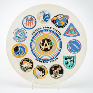 Johnson Space Center Souvenir Plate