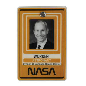 Al Worden's Lot of (6) Cards, Badges, and Passes