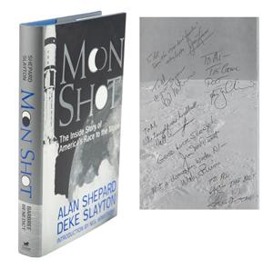 Al Worden's Multi-Signed Apollo Astronauts Book