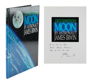 Al Worden's Jim Irwin Signed Book