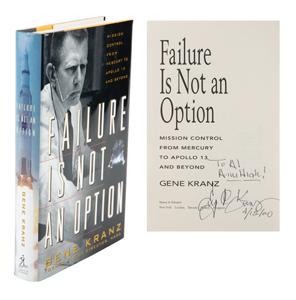 Al Worden's Gene Kranz Signed Book