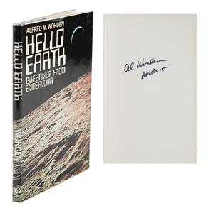 Al Worden's Signed 'Hello Earth' Book