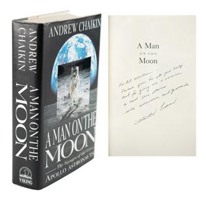 Al Worden's Andrew Chaikin Signed Book
