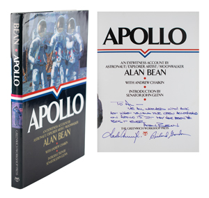 Al Worden's Apollo 12 Crew-Signed Book