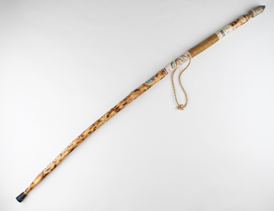 Al Worden's Apollo 15 Walking Stick