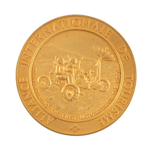 Al Worden's Alliance Internationale de Tourisme Gold Medal