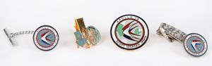 Al Worden's Lot of (4) Apollo Jewelry Pieces