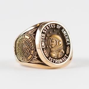Al Worden's Gold Apollo 15 Astronaut Ring