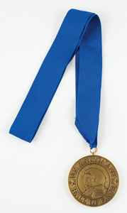 Al Worden's Astronaut Hall of Fame Medal