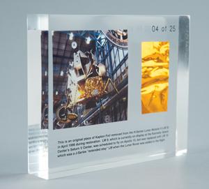 Al Worden's Lunar Module #9 Kapton Foil