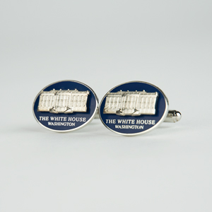 Al Worden's Cufflinks from the Donald Trump White House