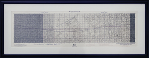Fred Haise Twice-Signed Apollo 13 Lunar Orbit Chart