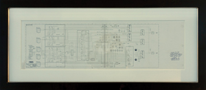 Charlie Duke's Apollo 16 Lunar-Surface Flown LM Electrical Diagram