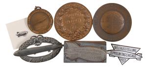 Ferdinand von Zeppelin Group of Medals and Badges