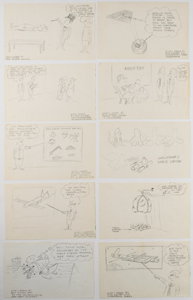 Rich Holmen Collection of (110+) Original McDonnell Douglas Engineering Cartoons