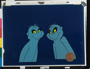 The Wickersham Brothers production cels from Horton Hears a Who! Signed by Chuck Jones