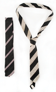 John F. Kennedy's Personally Owned and Worn 2 Neckties with