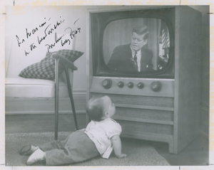 John F. Kennedy Signed Photograph and Typed Letter Signed on White House Stationery