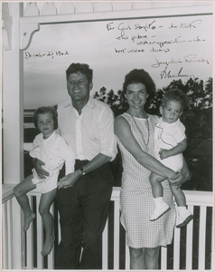 John and Jacqueline Kennedy Signed Photograph (Inscribed to Cecil Stoughton)