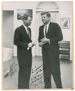 John and Robert Kennedy Signed Photograph