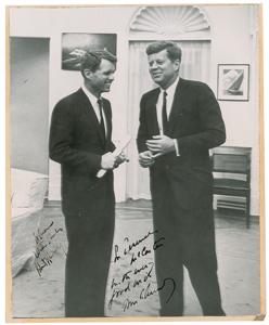 John and Robert Kennedy Signed Photograph
