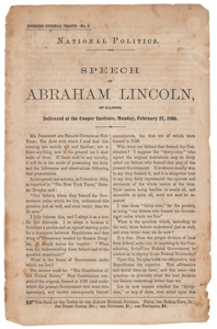Abraham Lincoln Speech