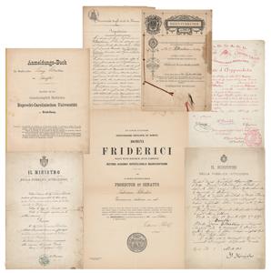 Ludwik Silberstein's European Papers