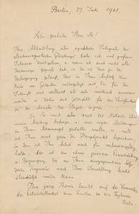 Max Planck (July 27, 1901)