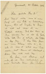 Max Planck (October 22, 1906)