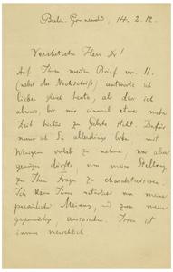 Max Planck (February 14, 1912)