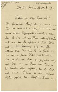 Max Planck (August 4, 1919)