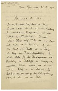 Max Planck (January 25, 1920)