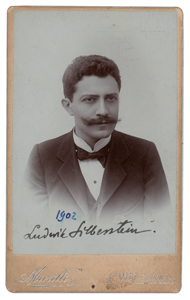Ludwik Silberstein Signed Photograph